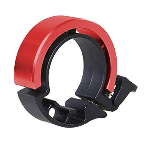 Klingel fahrrad, Mini Aluminiumlegierung Innovative Fahrradklingel O Design Fahrradhupe für Bike MTB Mountainbike, Q Bell Radfahren Fahrradglocke Glocke Alarm Horn Ring für 22.2 bis 31.8 mm Lenker