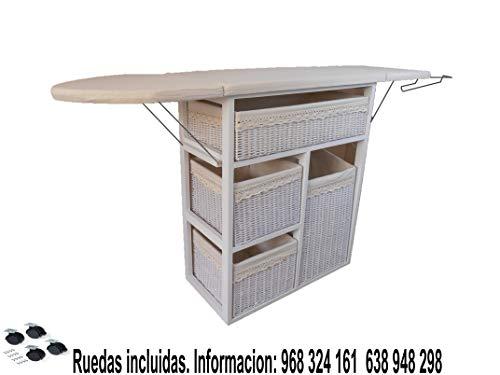 Meyvaser Mueble planchador Lisboa Blanco