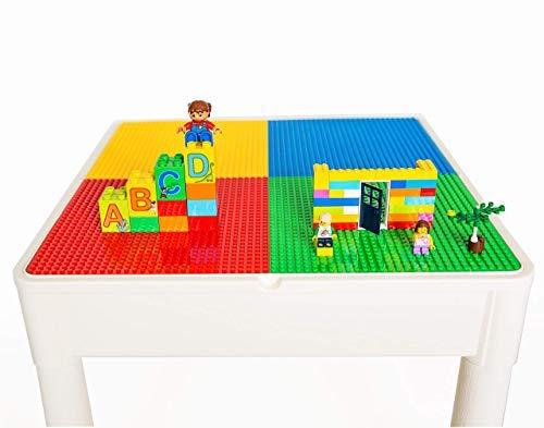 PlayBuild jugar y construer 4 in 1 niños Mesa y sillas para ...