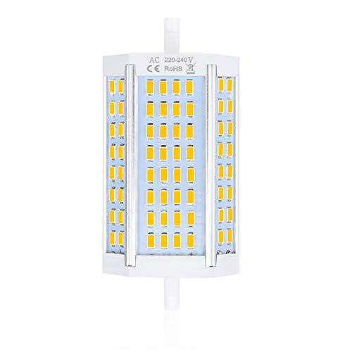Bonlux R7s 118mm LED Dimmerabile 30W, Sostituzione per 200W-300W R7s J118 Lampadina Alogena Lineare Bianco Naturale 4000K, Lampadine R7s J118 per Lampada Riflettore Proiettore, Lampada Soffitto