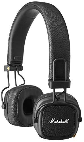 Marshall Major III Voice - Altavoz Bluetooth, Color Negro