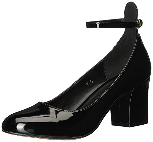 Athena Alexander Women's Lanna Dress Pump, Black Patent, 8 M US