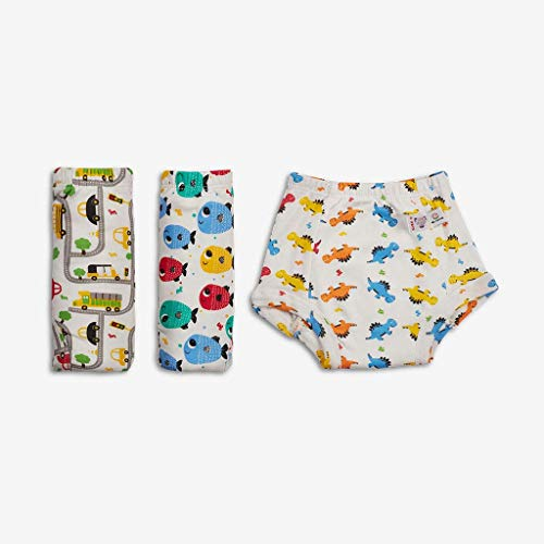 SuperBottoms Padded Underwear - Waterproof Pull up Underwear/Potty Training Pants for Babies/Kids, Pull up Unisex Trainers for Girls and Boys