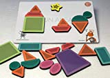 ButterflyFields Magnetic Shapes Puzzles Toys for Kids 2 Years Above Boys & Girls