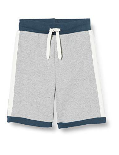 Fred's World by Green Cotton Jungen Skate Sweat Shorts, Grau (Pale Greymarl 207670000), (Herstellergröße: 116)