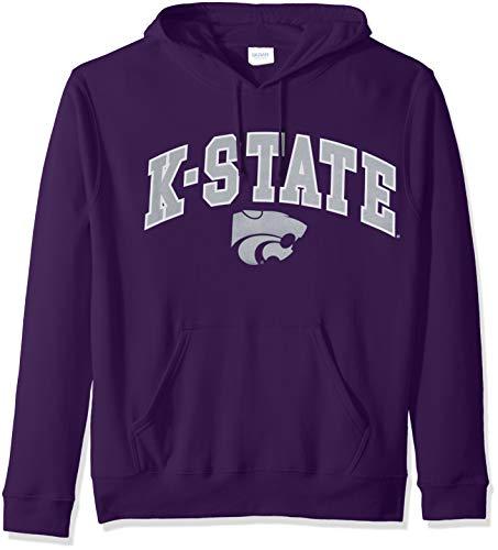 OuterStuff NCAA Men/'s Kansas State Wildcats Fan Basic 1//4 Zip Hoodie Black