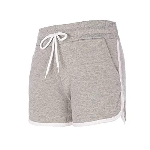 Trendcool Pantalones Cortos Mujer. Pantalones Chandal Mujer. Mallas Cortas Mujer. Short Deportivo Mujer. Shorts Elasticos Fitness. (M12, L)