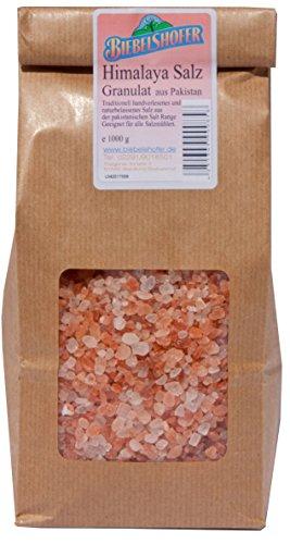 Himalaya-Salz aus Pakistan, Granulat, Mühlensalz Ursalz 1 kg