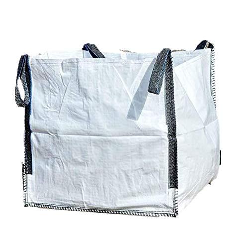 MULTISAC. Big Bags (FIBC) 50x50x50cm Laminado 500 KG. Boca abierta + fondo plano.