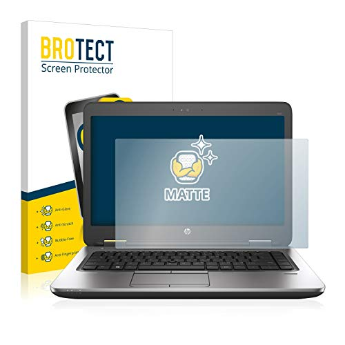 BROTECT Entspiegelungs-Schutzfolie kompatibel mit HP ProBook 640 G2 Bildschirmschutz-Folie Matt, Anti-Reflex, Anti-Fingerprint