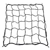 LouisaYork Elastisches Gartennetz, Gartenzaun-Netz, mit Stahlhaken, Pflanzenwachstumsnetz, Rankgitter für Pflanzen, Haustiere, Gemüseschutz, 80 x 80 cm