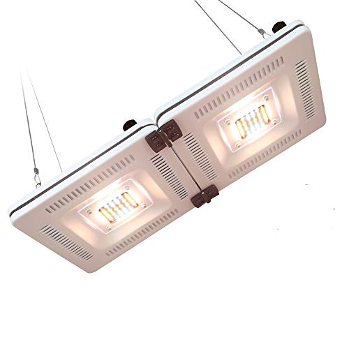 LED Pflanzenlampe, PDGROW Pflanzenlicht Vollspektrum Wachstumslampe Dimmbar Wasserdichte Pflanzenleuchte 600W CFL & HPS Äquivalent 84PCS LEDs mit Rot & Blau für Zimmerpflanzen Gemüse und Blumen