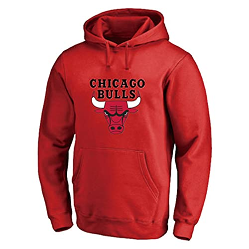 Baloncesto Jordan Hoodies Chicago # 23 Sudadera con Capucha Bulls Juego de Baloncesto Sudadera Casual Juego Sudaderas para Hombres S-5XL red-2XL
