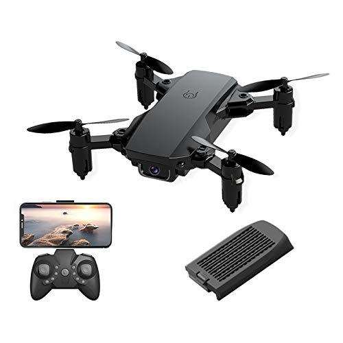 Mini Drone con cámara 1080P para adultos, WiFi FPV Drone Video en vivo Gran angular de 120 °, Quadcopter RC plegable con retención de altitud, Modo sin cabeza, Regreso automático a casa