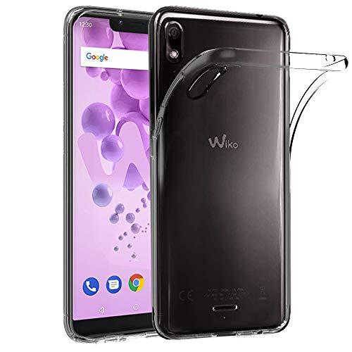 Ferilinso Hülle für Wiko View 2 Go, Ultra [Slim Thin] Kratzfestes TPU Gummi Weiche Haut Silikon Fall Schutzhülle für Wiko View 2 Go (Transparent)