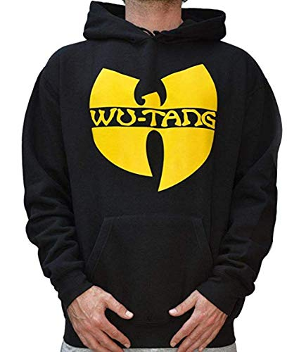 Wu Wear Wu-Tang Clan Logo Hoodie Wu Tang Wear Hoody Sweater S-3XL(M)
