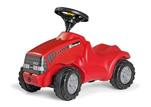 Rolly Toys rollyMinitrac Case CVX 1170 (für Kinder von 1,5 - 4 Jahre, Ablagefach unter Motorhaube, Flüsterlaufreifen) 132263