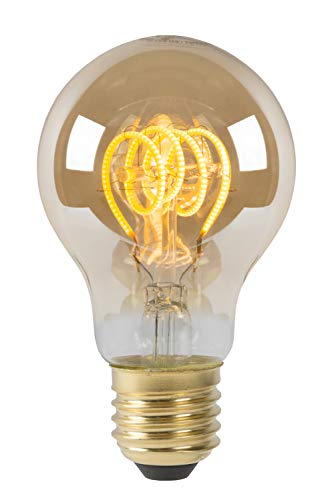Lucide LED Bulb - gloeidraad lamp - Ø 6 cm - LED dim. - E27-1x5W 2200K - Amber