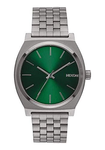 Reloj Nixon Time Teller Acero All Gunmetal/Green Sunray A045-2458