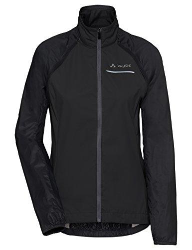 VAUDE Dames Windoo Pro Zip-Off Jacket Jacket, Zwart, 36