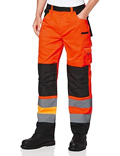 Result Herren Safe Guard Cargo Trousers Hose, Orange (Flo Orange R327xoranxlr), 56