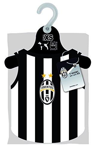cuccia cane juventus Maglia della Juventus per cani lunghezza sulla schiena CM 18 - Squadre di Serie A