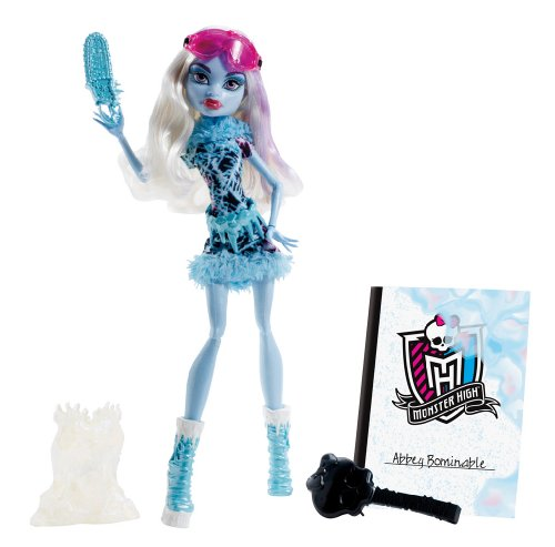 Mattel BDF13 - Monster High Art Class Abbey, Puppe