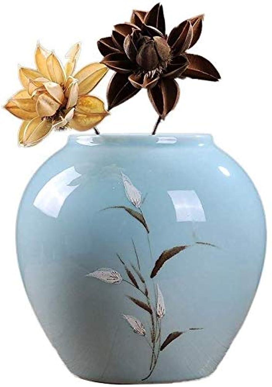 ファンタジー系統的そのような花瓶 偽の花瓶の装飾工場花16X34cmセラミック花瓶ホームオフィスパーティー (Size : 19X20cm)
