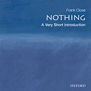 Nothing: A Very Short Introduction audiobook cover art
