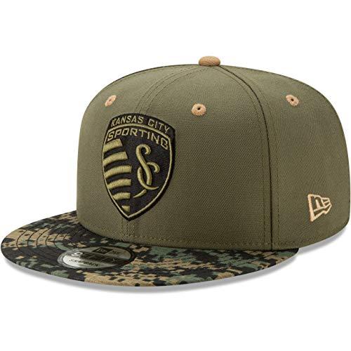 New Era 9Fifty MLS Sporting Kansas City Camo - Gorra, diseño de...