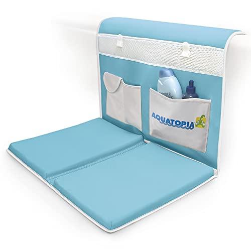 AQUATOPIA, Safety Bath-Time Cushioned Easy Kneeler & Detachable Elbow...
