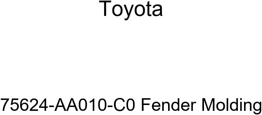 discount TOYOTA Online limited product Genuine 75624-AA010-C0 Molding Fender