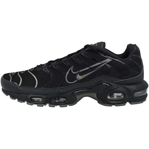 Nike Zapatillas para hombre Low Air Max Plus, color Negro, talla 40 EU