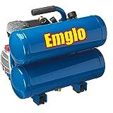 Emglo E810-4VR 1.1 HP 4 Gallon Oil-Lube Twin Stack Air Compressor (Renewed)