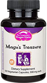 Dragon Herbs Magu's Treasure -- 500 mg - 100 Vegetarian Capsules