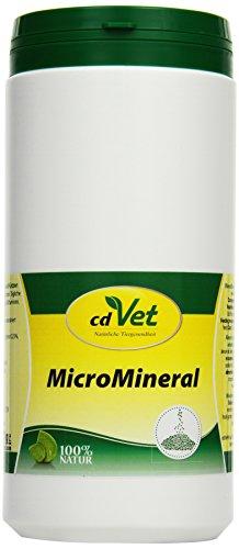 cdVet MicroMineral Hund & Katze 1000g - Nahrungsergänzung für Haustiere mit Mineralstoffen und Spurenelementen wie Magnesium und Calcium sowie Vitaminen