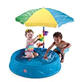 Step2 Play & Shade Pool for Toddlers | Plastic Kids Outdoor Pool, Multicolor