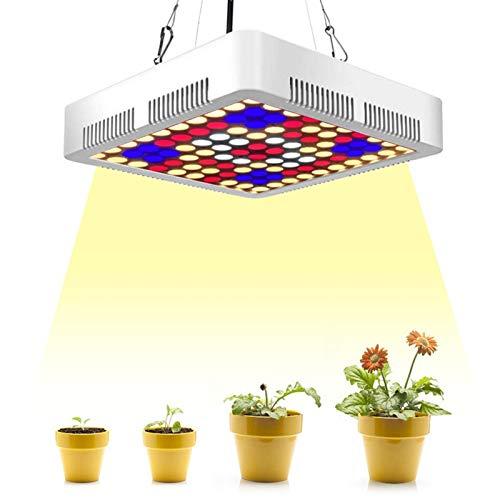 A-ZHP Impermeable LED Crece la luz 1000W Premium Full Spectrum for Plantas de Interior Crecer y Dar Frutos Inteligentes y silencioso Luces de Crecimiento A-