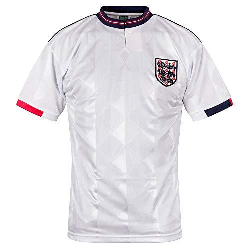 Inglaterra 1989 - Camiseta de fútbol unisex para adultos - blanco - XX-Large