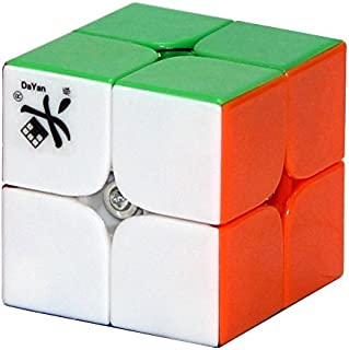 Dayan Zhanchi I Stickerless 2x2x2 Speed Cube Puzzle, 46mm