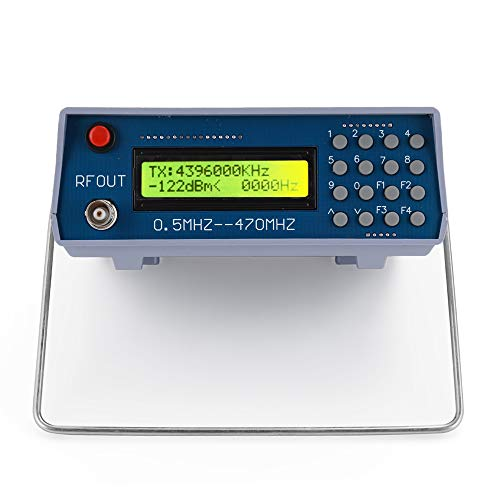 ROEAM DDS Funktion Signal Generator 0,5 MHz-470 MHz HF-Signalgenerator-Meter-Tester für FM-Radio-Walkie-Talkie-Debugger-Digital-CTCSS-Singal-Ausgang