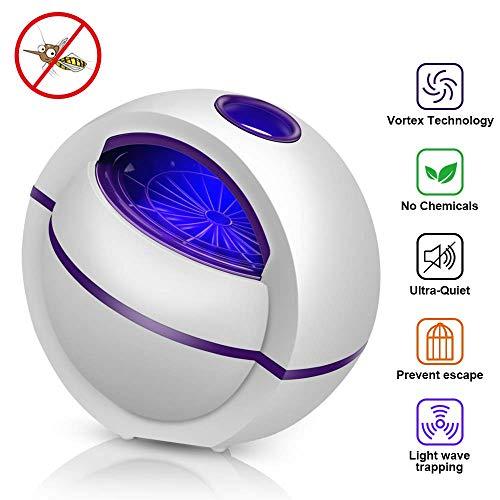 Ovareo Insektenvernichter, Elektrischer Insektenvernichter Mückenvernichter Insektenfalle UV LED Mückenlampe Mückenschut Fluginsektenvernichter