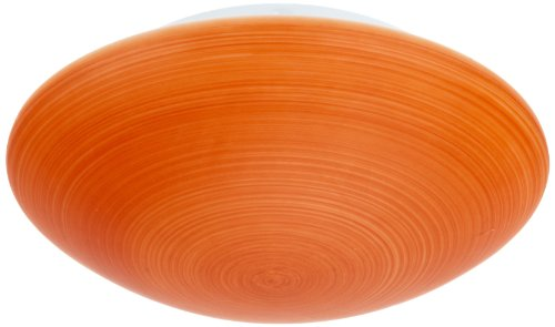 Brilliant 1665106 Wand-und Deckenleuchte Indra orange gestreift 1-flammig