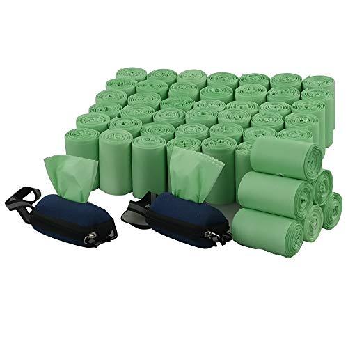 Lesbin Hundekotbeutel, biologisch abbaubar, 1000 Stück, Grün