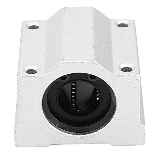 Bloque de rodamiento lineal cerrado 2PCS SC16UU Control deslizante de rodamiento lineal Suministros industriales Maquinaria de construcción