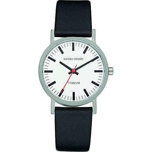 Danish Design Damen-Armbanduhr XS Analog Quarz Leder 3326028