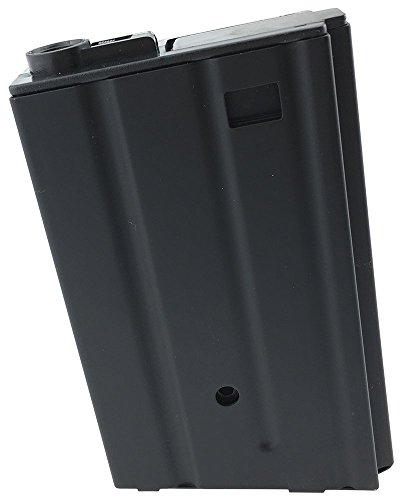 Airsoft magic 190 Round Metal Vietnam Style High Capacity Magazine Magazin for AEG M4 M16 Airsoft – Black