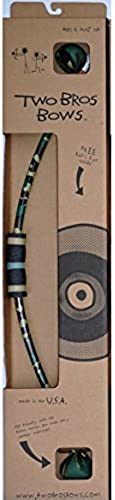 Camo Bow & 2 Arrows Boxed Set - Outdoor Fun Toy by Two Bros Bows (003-PKG-CAM) by Two Bros Bows