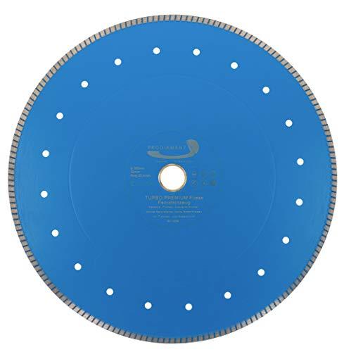 PRODIAMANT Profi Diamant-Trennscheibe Fliese/Feinsteinzeug extra dünn 350 mm x 30/25,4 mm Diamanttrennscheibe PDX83.975 350mm Fliesenscheibe
