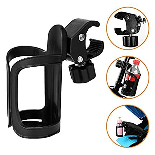 N A Portabidón de Bicicleta Ajustable Portabidón para Bicicleta Botella Jaula Estante Cochecito para MTB Bike Bottle Cage, Bike Water Bottle Holder, 360 Degree Rotation